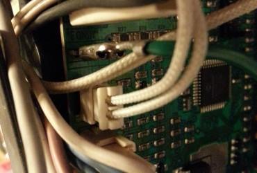 ESAM5500 Leistungsplatine Steckerbelegung und Zustand