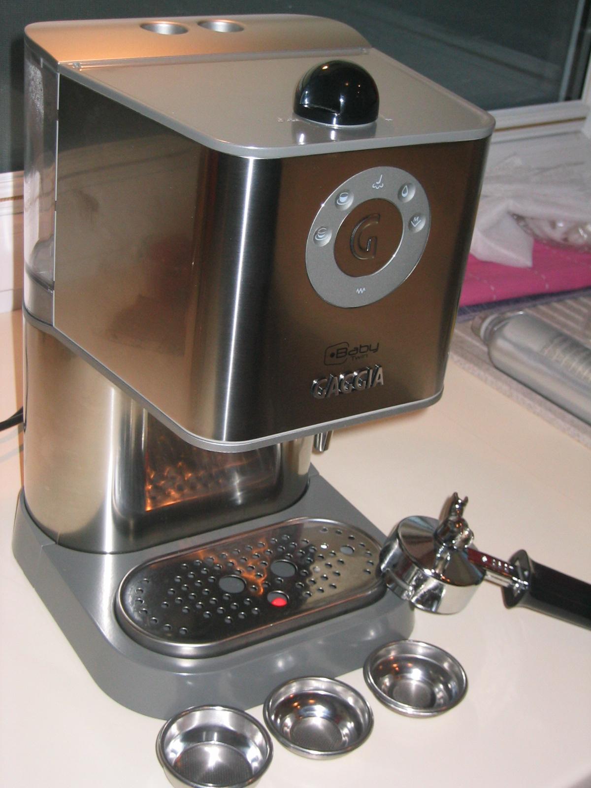 testbericht gaggia new baby twin berichte kaffee das bohnenstarke kaffeeforum. Black Bedroom Furniture Sets. Home Design Ideas