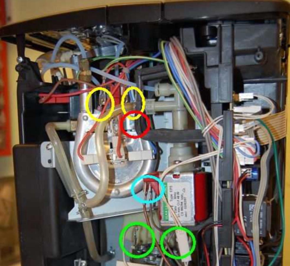 Beliebt ESAM 6600 macht kein Heißwasser/Milchschaum - Durchlauferhitzer TE85