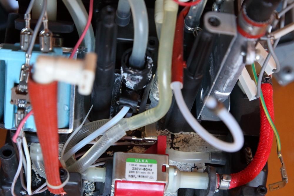 Undichte Delonghi EN 660.R - Wartung und Reparatur - Kaffee-Welt ...